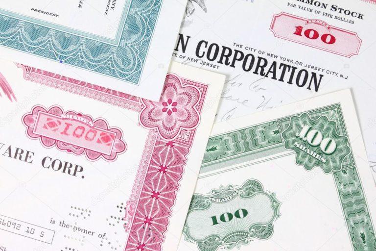 отличие облигаций от депозита, векселя и акций